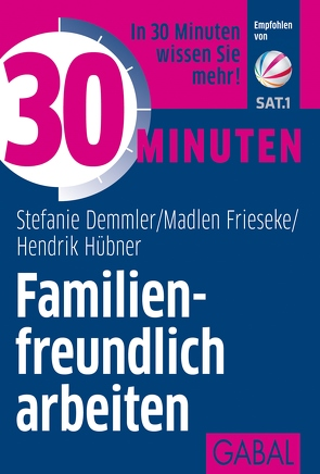 30 Minuten Familienfreundlich arbeiten von Demmler,  Stefanie, Frieseke,  Madlen, Hübner,  Hendrik