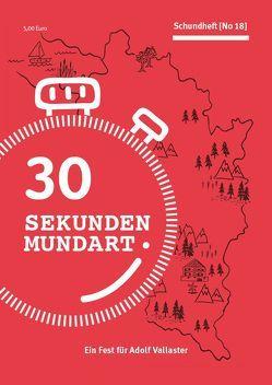 30 Sekunden Mundart von Gabriel,  Ulrich
