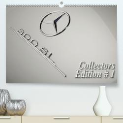 300 SL Collectors Edition # 1 (Premium, hochwertiger DIN A2 Wandkalender 2020, Kunstdruck in Hochglanz) von Bau,  Stefan