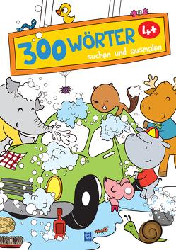 300 Wörter suchen und ausmalen – Autowaschen