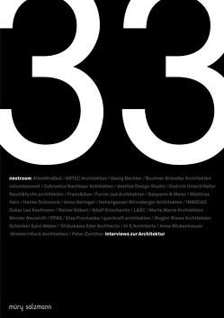 33 Interviews zur Architektur von Hämmerle,  Lukas, Pfeifer Steiner,  Martina