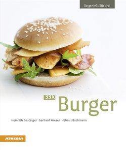 33 x Burger von Bachmann,  Helmut, Gasteiger,  Heinrich, Wieser,  Gerhard