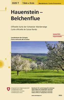 3325T Hauenstein – Belchenflue Wanderkarte