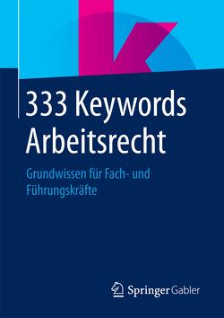 333 Keywords Arbeitsrecht von Springer Fachmedien Wiesbaden