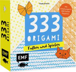 333 Origami – Falten und Spielen von Precht,  Thade