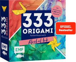 333 Origami –Farbenfeuerwerk: Alcohol Ink