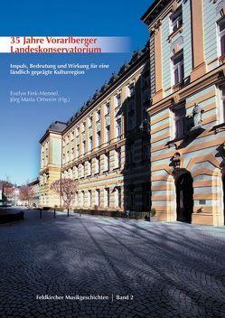 35 Jahre Vorarlberger Landeskonservatorium von Fink-Mennel,  Evelyn, Ortwein,  Jörg Maria