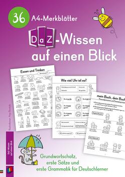 36 A4-Merkblätter DaZ-Wissen auf einen Blick von Verlag an der Ruhr,  Redaktionsteam