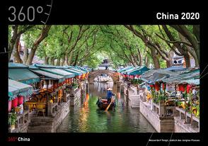 360° China Kalender 2020 von Becke,  Jan