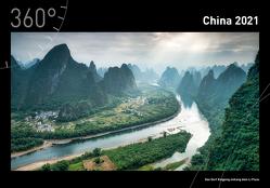 360° China Premiumkalender 2021 von Becke,  Jan
