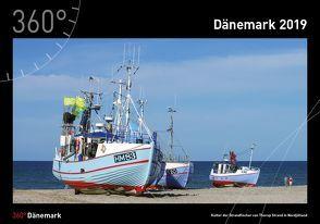 360° Dänemark Kalender 2019 von Klüche,  Hans