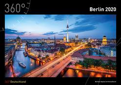 360° Deutschland – Berlin Kalender 2020 von Becke,  Jan