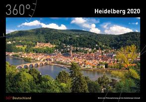 360° Deutschland – Heidelberg Kalender 2020 von Becke,  Jan