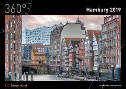 360° Deutschland Kalender 2019 – Hamburg von de Jonge,  Imke, de Jonge,  Jan