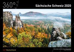360° Deutschland – Sächsische Schweiz Kalender 2020 von Hanicke,  Alex