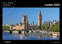360° England – London Kalender 2020 von Frei,  Franz Marc