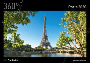 360° Frankreich – Paris Kalender 2020 von Becke,  Jan