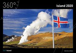 360° Island Kalender 2020 von Niederwanger,  Judith, Pichler,  Alexander