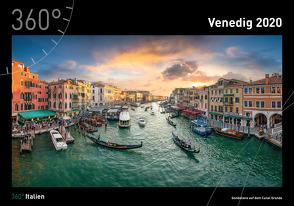 360° Italien – Venedig Kalender 2020 von Becke,  Jan