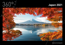 360° Japan Premiumkalender 2021 von Becke,  Jan