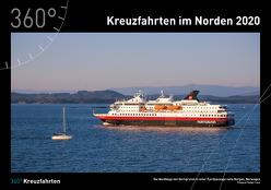 360° Kreuzfahrten – Nordeuropa Kalender 2020 von Leue,  Holger