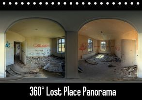 360° Lost Place Panorama (Tischkalender 2018 DIN A5 quer) von DerMische