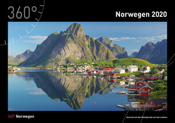 360° Norwegen Kalender 2020 von Pantke,  Reinhard