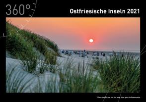 360° Ostfriesische Inseln Premiumkalender 2021 von Heinze,  Ottmar