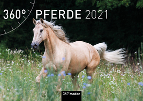 360° Pferde Klappkalender 2021 von Sarti,  Alessandra