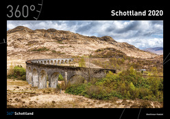 360° Schottland Kalender 2020 von Niederwanger,  Judith, Pichler,  Alexander