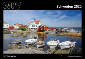 360° Schweden Kalender 2020 von Pantke,  Reinhard