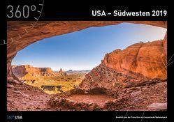 360° USA – Der Südwesten Kalender 2019