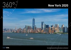 360° USA – New York Kalender 2020 von Gackstatter,  Joanna, Pingert,  Mark