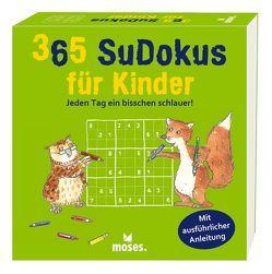 365 Sudokus für Kinder von Heine,  Stefan, Tust,  Dorathea