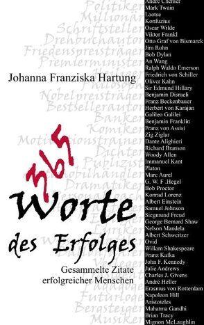 365 Worte des Erfolges von Hartung,  Johanna F