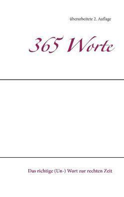 365 Worte von Lehmer,  Wolfgang M.