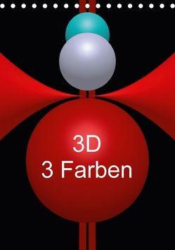 3D – 3 Farben (Tischkalender 2018 DIN A5 hoch) von Bild,  Issa