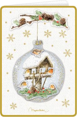 3D-Weihnachtskarten mit Kuvert – Zauberhafte Weihnachten – Marjolein Bastin von Bastin,  Marjolein