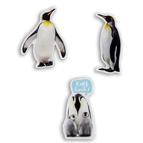 3er-Set Deko-Magnete »Pinguin«
