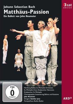 3sat Edition: J. S. Bach: Matthäus-Passion von Neumeier,  John, Schreier,  Peter