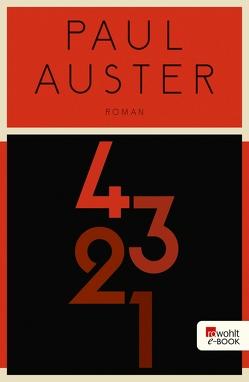 4 3 2 1 von Auster,  Paul, Gunkel,  Thomas, Schmitz,  Werner, Singelmann,  Karsten, Stingl,  Nikolaus