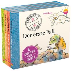 """4 Abenteuer """"Kommissar Gordon"""" von Doll,  Lotta, Kroschwald,  Udo, Nilsson,  Ulf, Noethen,  Ulrich, Singer,  Theresia, u.v.a."""