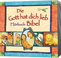 4-CD-Box: Die Gott hat dich lieb Bibel zum Anhören von Kuhn,  Karo, Lloyd-Jones,  Sally, Schepmann,  Philipp, Schier,  Tobias, Schuffenhauer,  Tobias