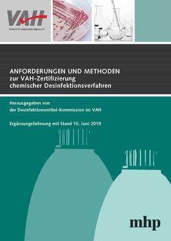 4. Ergänzungslieferung zu Anforderungen und Methoden zur VAH-Zertifizierung chemischer Desinfektionsverfahren