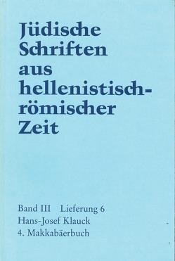 4. Makkabäerbuch von Klauck,  Hans-Josef