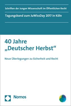 """40 Jahre """"Deutscher Herbst"""" von Brings-Wiesen,  Tobias, Ferreau,  Frederik"""