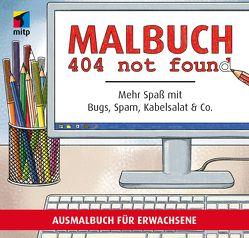 404 malbuch not found von Bunge,  Linda