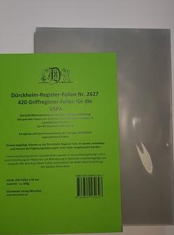 420 Dürckheim-Griffregister-Folien für die VSPA-Bayern von Dürckheim,  Constantin von