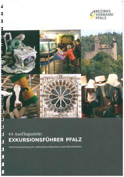 44 Ausflugsziele: Exkursionsführer Pfalz von Buntz,  Herwig, Endres,  Stefan, Möller,  Lenelotte, Reiser,  Regina, Schaupp,  Stefan, Wieder,  Theo