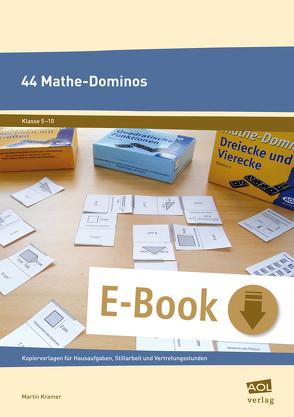 44 Mathe-Dominos von Kramer,  Martin